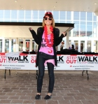 Nicole at the STEP OUT Walk to Stop Diabetes - 2