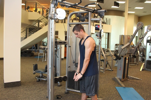 LA Fitness member Tyler is comfortable working out on any piece of equipment
