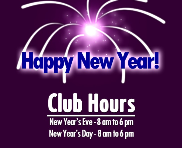 LA Fitness New Year's Eve and New Year's Day Hours