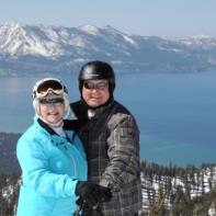 An amazing view of Tahoe for an amazing couple