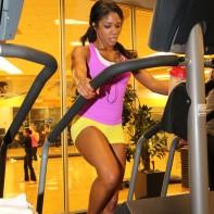 Denita at LA Fitness