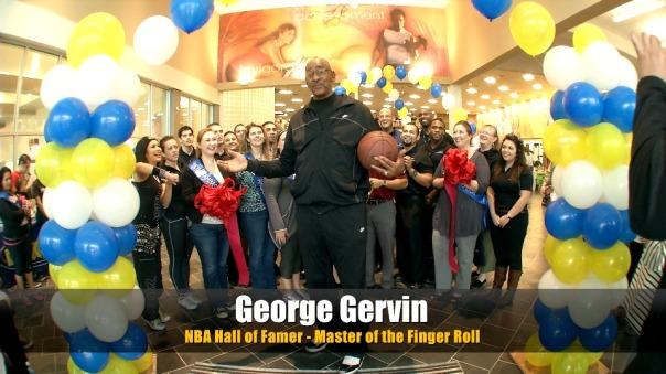 George Iceman Gervin LA Fitness San Antonio Loop Grand Opening