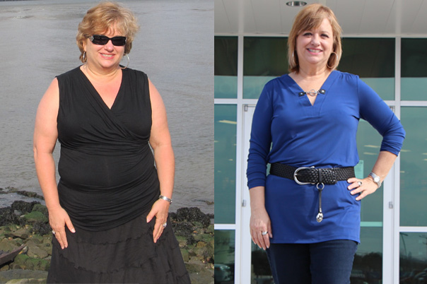 LA Fitness Member Mary Before and After Losing 38 pounds