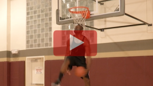 Chidi does a 180 Between-the-Legs Dunk at LA Fitness
