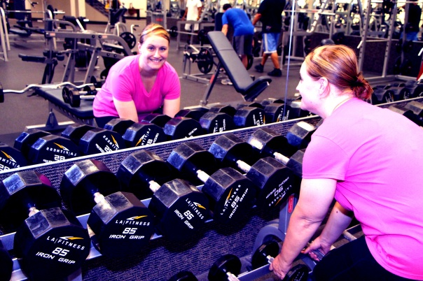 Shannon Getting it done losing 110 pounds at LA Fitness