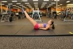 Bethany ab leg raise LA fitness 2