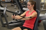 Bethany doing cable fliesat LA Fitness 2