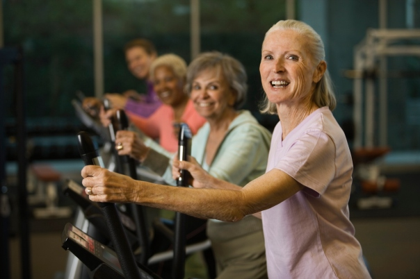 Keep active, feel younger at LA Fitness