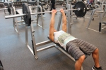 LA Fitness Member Bryant Performing a Close-Grip Bench Press-2