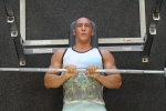 LA Fitness Member Bryant Performing a Close-Grip Bench Press-3