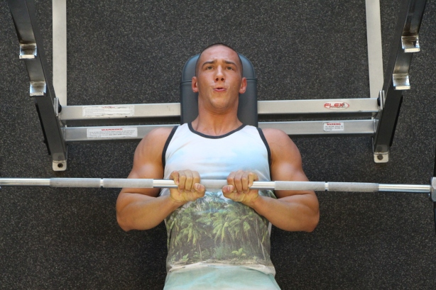 wooden bench press plans