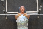 LA Fitness Member Bryant Performing a Close-Grip Bench Press-4