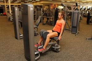 adductor machine at LA Fitness - 2