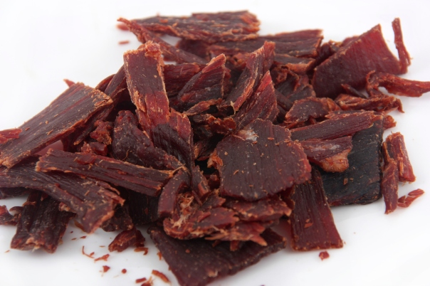 high protein in beef jerky
