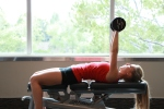 i - Chest press dumbbell drop sets (4)