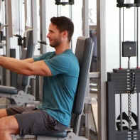 James-performing-chest-fly-drop-set-at-LA-Fitness-2