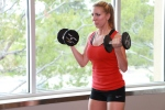 L - dumbbell curl drop sets at LA Fitness (4)