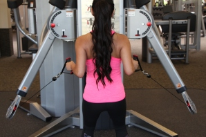 Nico Performing Row at LA Fitness - 2