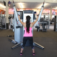 Nico Performing Row to Squat at LA Fitness - 3
