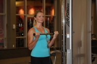 Danica working out at LA Fitness to get ready for summer (1)