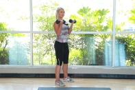 dumbbell exercises at LA Fitness (2)