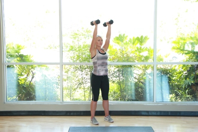 dumbbell exercises at LA Fitness (3)