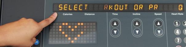 ticker instructional display