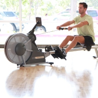 Row Machine at LA Fitness with James (1)