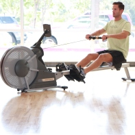 Row Machine at LA Fitness with James (2)