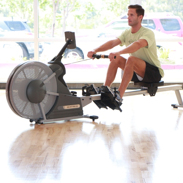Row Machine at LA Fitness with James (3)