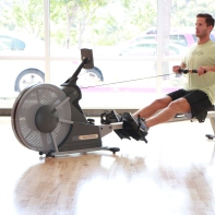 Row Machine at LA Fitness with James (4)