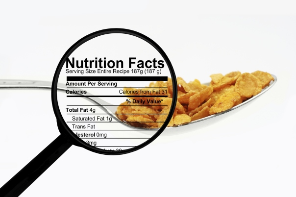 learn how to read food labels to find out unsaturated fat and other nutrients