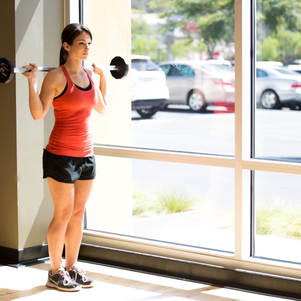Barbell and Free weights 101 - Legs at LA Fitness