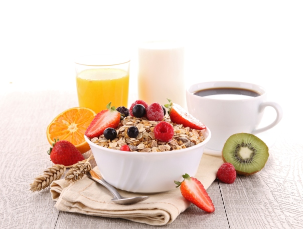 1- best time for a healthy breakfast is before you workout