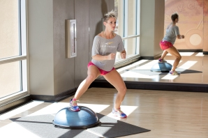 volleyball workout with Catherine at LA Fitness-16