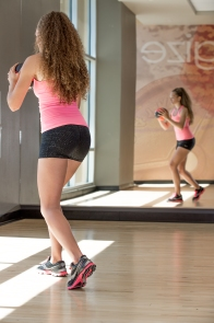 volleyball workout with Catherine at LA Fitness-21