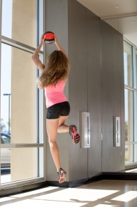 volleyball workout with Catherine at LA Fitness-22