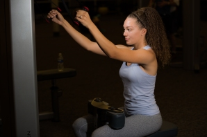Cable exercises 101 back muscles with Catherine at LA Fitness
