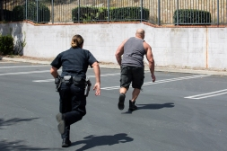 police workout at LA fitness-36