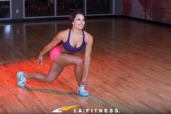 How to do an Ice Skater exercise From LA Fitness and Living Healthy the official blog of LA Fitness (2 of 3)