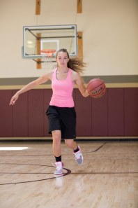 basketball workout at LA Fitness with Catherine-24