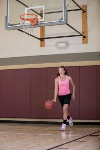 basketball workout at LA Fitness with Catherine-25