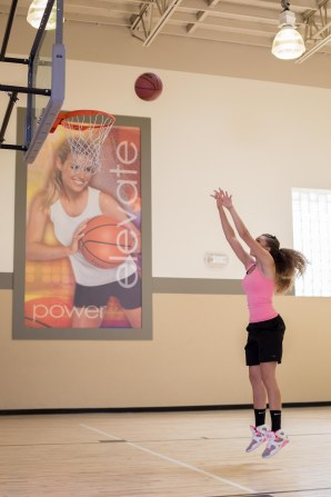 basketball workout at LA Fitness with Catherine-26