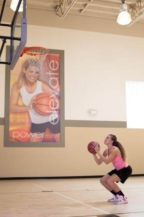 basketball workout at LA Fitness with Catherine-27