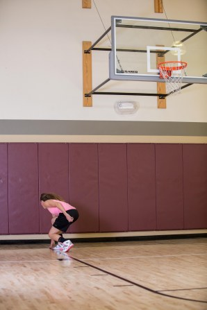 basketball workout at LA Fitness with Catherine-29