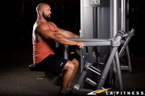 How to use the Row machine at LA Fitness-2