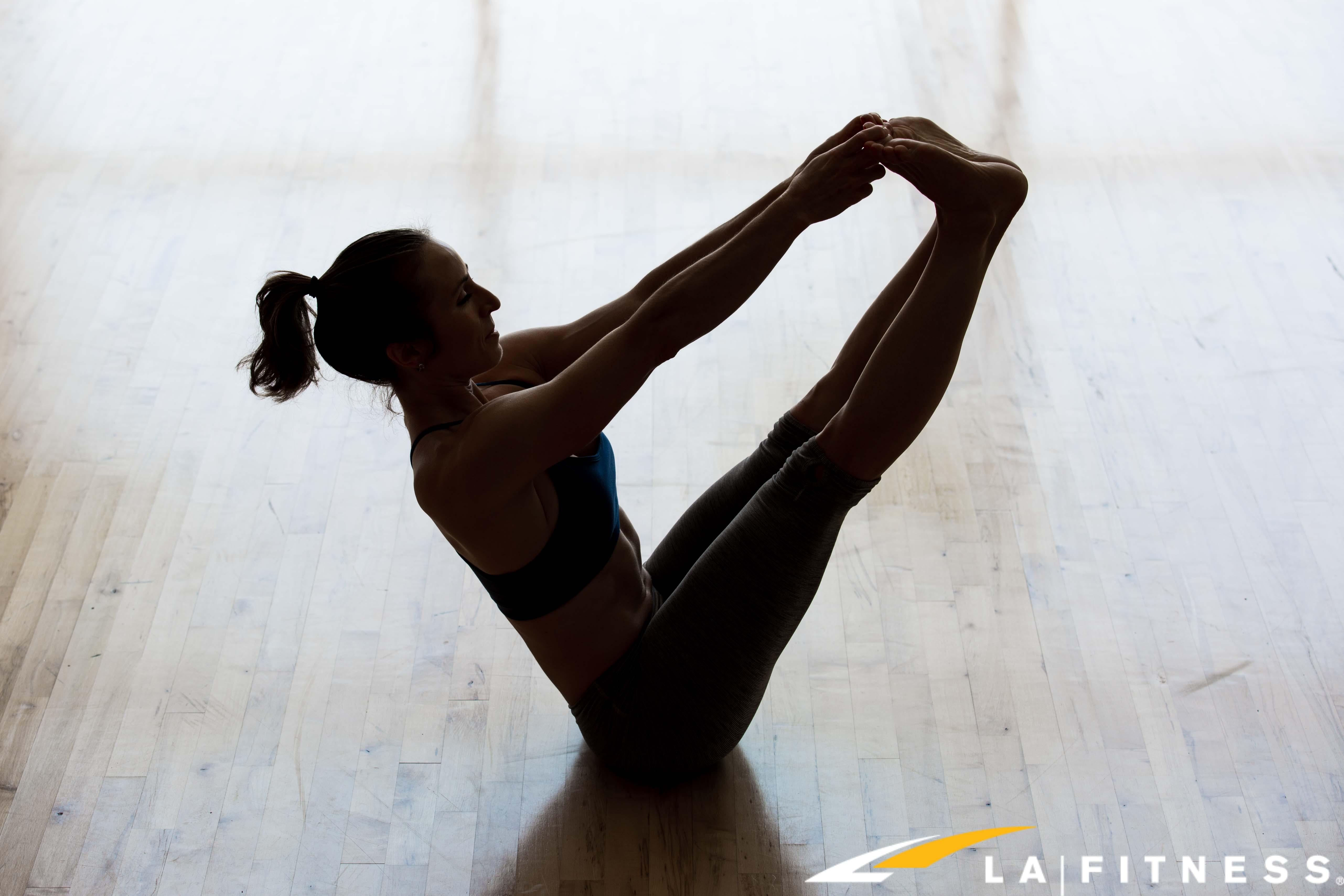 Laurenns Yoga Abs At LA Fitness