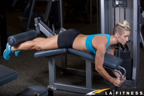 how-to-do-a-lying-leg-curl-at-LA-Fitness